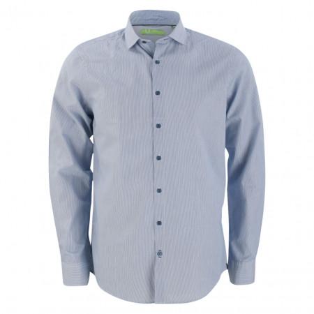SALE % | U Fischer | Hemd - Regular Fit - Stripes | Blau online im Shop bei meinfischer.de kaufen