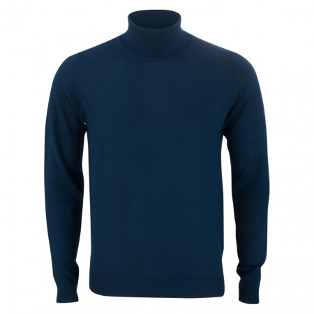 SALE % | U Fischer | Pullover - Slim Fit - Rollkragen | Blau online im Shop bei meinfischer.de kaufen