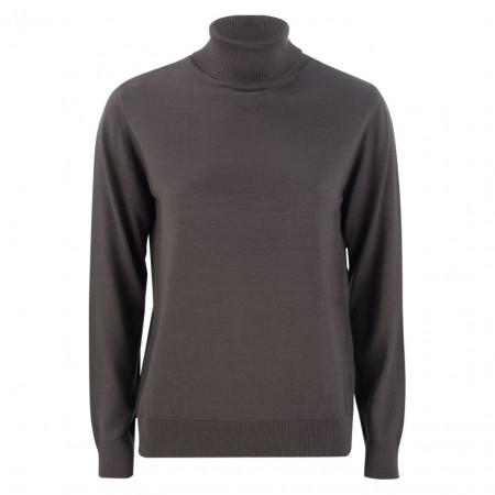SALE % | U Fischer | Pullover - Slim Fit - Rollkragen | Grau online im Shop bei meinfischer.de kaufen