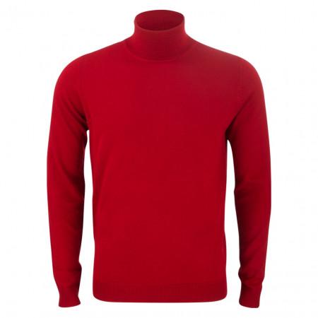 SALE % | U Fischer | Pullover - Slim Fit - Rollkragen | Rot online im Shop bei meinfischer.de kaufen