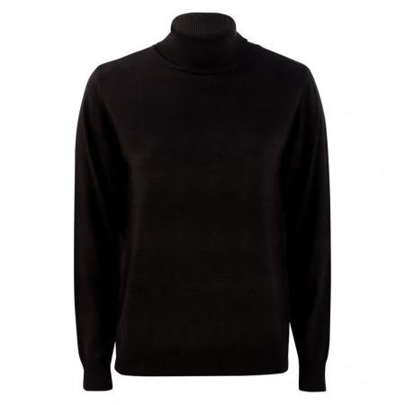 SALE % | U Fischer | Pullover - Slim Fit - Rollkragen | Schwarz online im Shop bei meinfischer.de kaufen