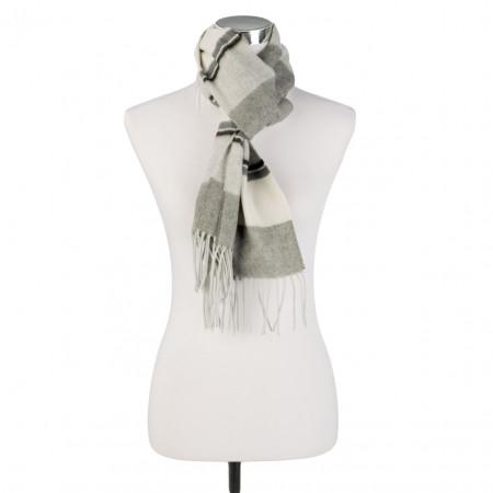 SALE % | U Fischer | Schal - Stripes | Grau online im Shop bei meinfischer.de kaufen