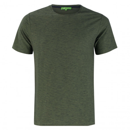 SALE % | U Fischer | T-Shirt - Regular Fit - Stripes | Grün online im Shop bei meinfischer.de kaufen