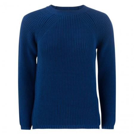 SALE % | U Fischer | Pullover - Regular Fit - Strick | Blau online im Shop bei meinfischer.de kaufen