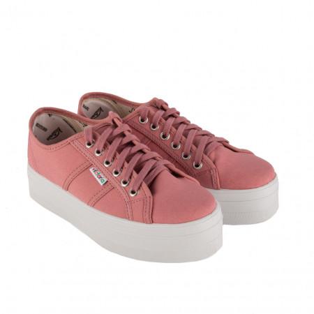 SALE % | Victoria | Sneaker - Schnürer | Rosa online im Shop bei meinfischer.de kaufen