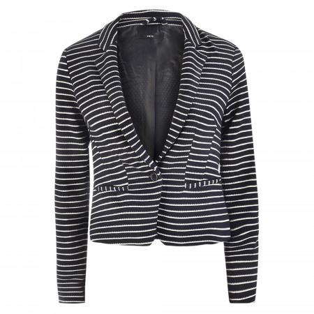 SALE %   Zero   Blazer - Regular Fit - Stripes   Blau online im Shop bei meinfischer.de kaufen