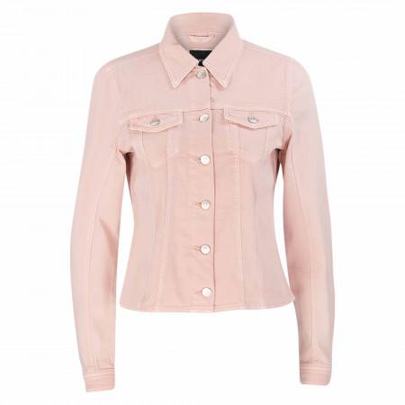 SALE % | Zero | Jeansjacke - Regular Fit - Unifarben | Rosa online im Shop bei meinfischer.de kaufen