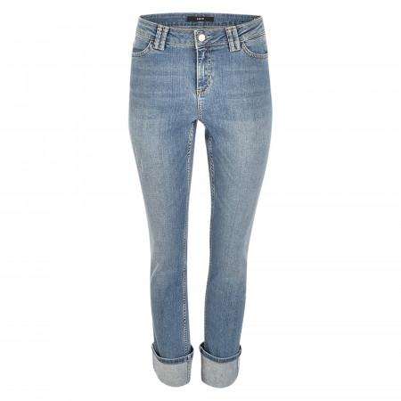 SALE %   Zero   Jeans - Straight Fit - Denim   Blau online im Shop bei meinfischer.de kaufen