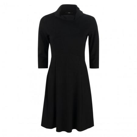 SALE % | Zero | Kleid - Slim Fit - Schalkragen | Schwarz online im Shop bei meinfischer.de kaufen