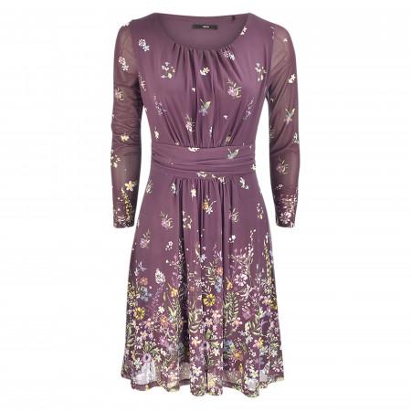 SALE % | Zero | Kleid - fitted - Print | Lila online im Shop bei meinfischer.de kaufen