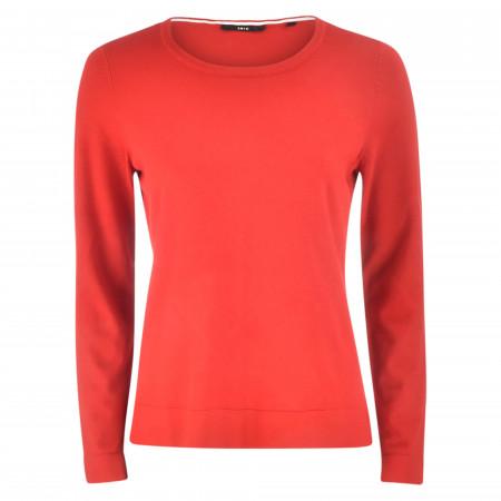 SALE %   Zero   Sweater - Regular Fit - Crewneck   Rot online im Shop bei meinfischer.de kaufen