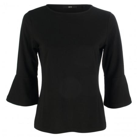79d42bf8aa37 SALE %   Zero   Jerseyshirt - Regular Fit - Trompeten-Ärmel   Schwarz online