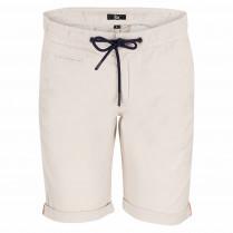 Shorts - Regular Fit - Leinen-Optik
