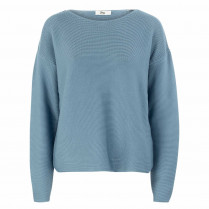 Sweatshirt - Loose Fit - unifarben