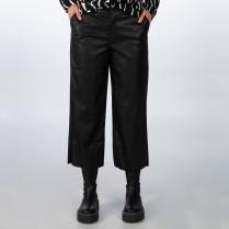 Culotte - Regular Fit - Leder
