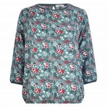 Shirtbluse - Loose Fit - Flowerprint