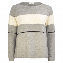 Strickpullover - Loose Fit -  Stripes
