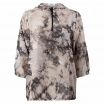 Bluse - Loose Fit - 3/4 Arm