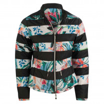 Wendejacke  - Regular Fit - Flowerprint 100000