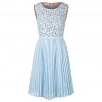 Kleid - fitted - Plissee