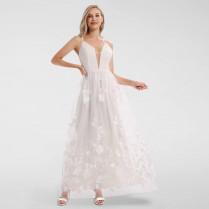 Hochzeitskleid - Applikationen
