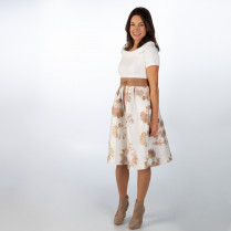 Kleid - Slim Fit - Muster