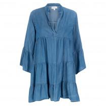 Kleid - Regular Fit - Jeansoptik