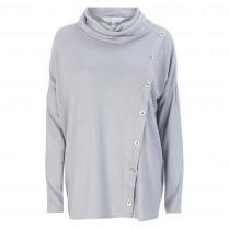 Pullover - Loose Fit - Schalkragen