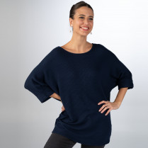 Pullover - Loose Fit - 3/4-Arm