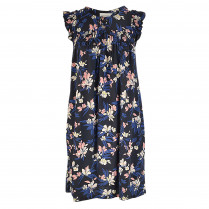 Kleid - Loose Fit - Flower-Prints