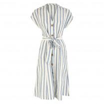 Kleid - Loose Fit - Saalika Block Stripe