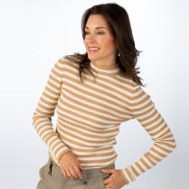 Pullover - Slim Fit - Alaani Striped