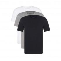 Basicshirts - 3er-Pack - Crewneck