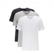 Basicshirts - 3er-Pack - V-Neck