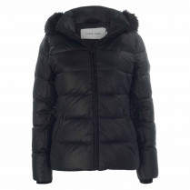 Daunenjacke - Regular Fit - Kapuze