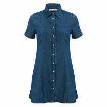Kleid - Regular Fit - Denim 100000