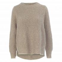 Pullover - Loose Fit - Turtleneck