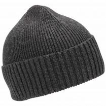 Strickmütze - Labelpatch - Wolle