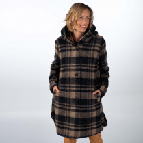 Wollmantel - Loose Fit - Wolle