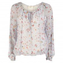 Bluse - Loose Fit - Muster