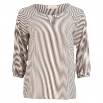 Bluse - Loose Fit - Stripes