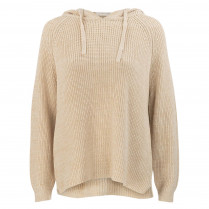 Strickpullover - Loose Fit - Kapuze