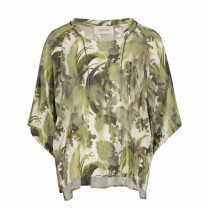 Bluse - Comfort Fit - Muster