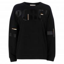Sweatshirt - Loose Fit - Letterprint