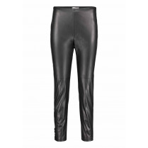Leggings - Slim Fit - Leder-Optik