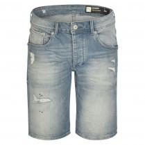 Denimshorts - Regular Fit - Used-Look