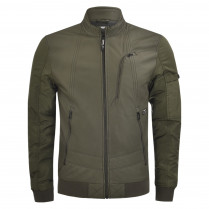 Lederjacke - Slim Fit - Rac