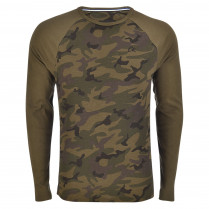 Sweatshirt - Modern Fit - Camouflage