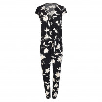 Jumpsuit - Casual Fit - Flower-Prints
