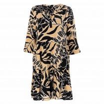 Kleid - Regular Fit - Alloverprint